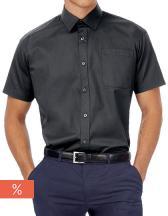 Twill Shirt Sharp Short Sleeve / Men